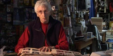 for Globe North - A screen grab of Kay Moulton, who has run the Surfland Bait and Tackle shop for 48 years, from James Waldron's film, ÒReel People: Fishermen of Plum Island.Ó (handout) Library Tag 04022009 Globe North 1,2